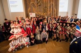 Faschingsempfang im bayerischen Landtag